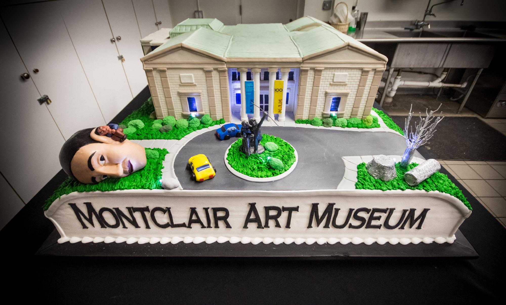 Montclair Art Museum celebrated its 100 years with a Centennial cake