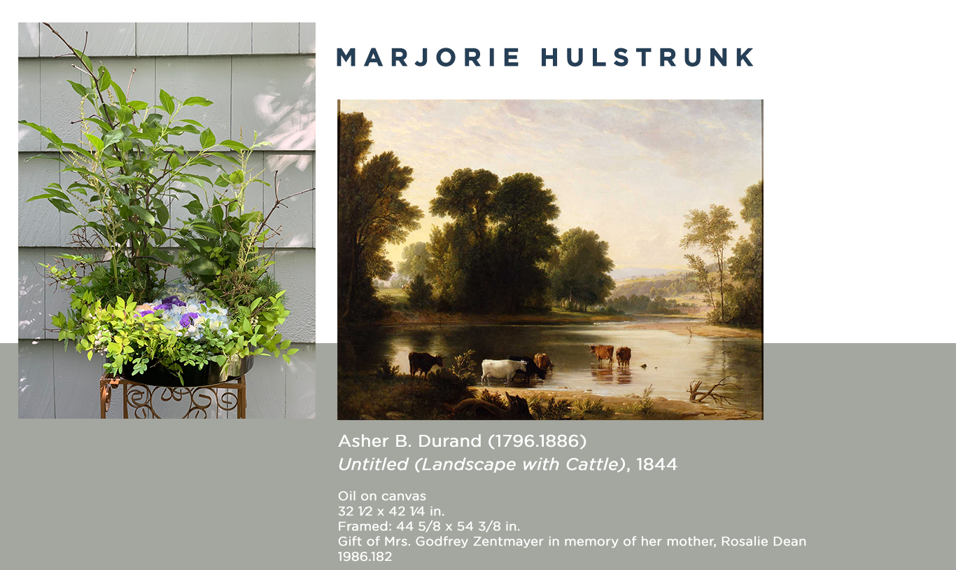 Marjorie Hulstrunk Virtual Art in Bloom floral design