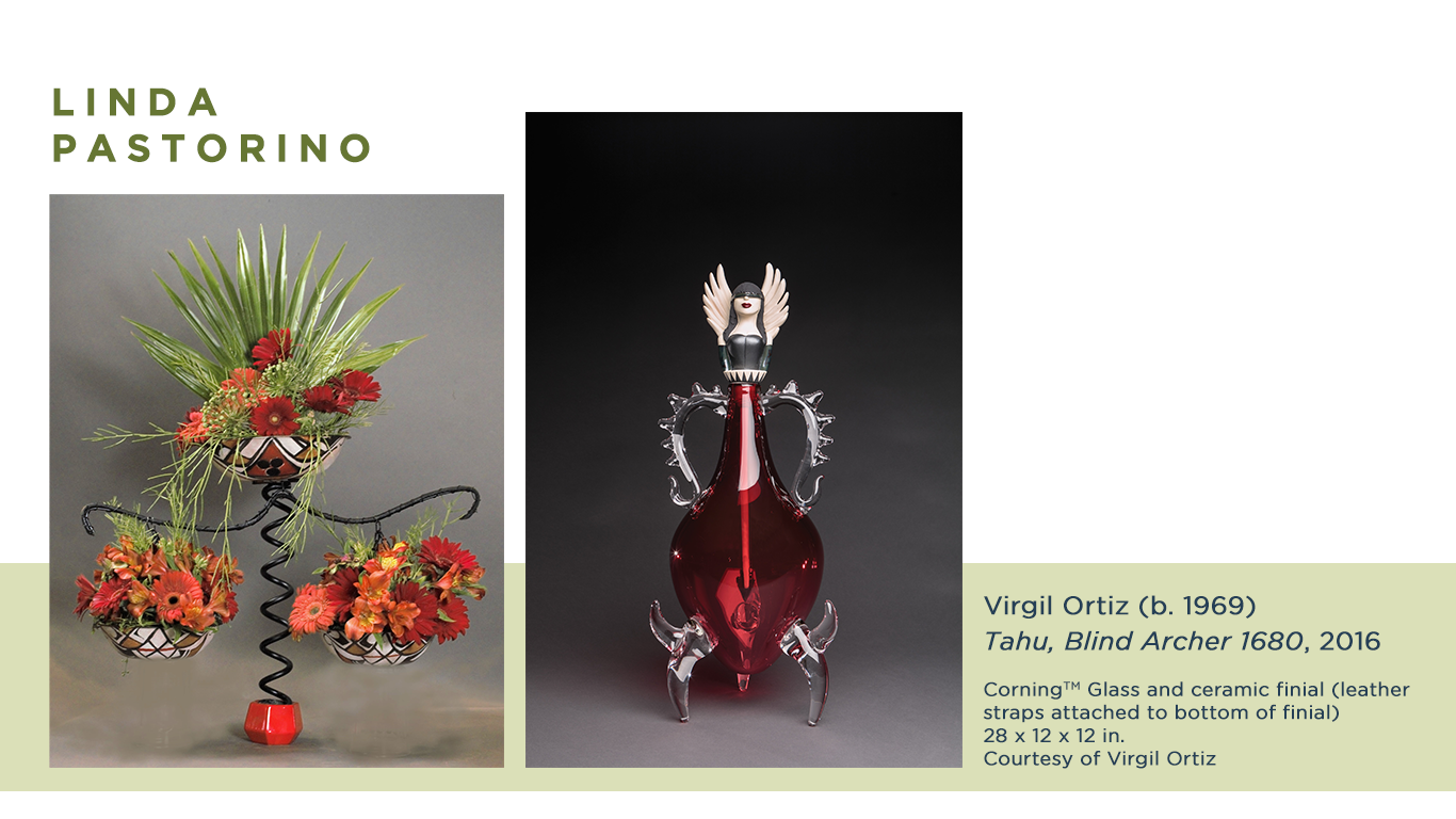 Linda Pastorino Virtual Art in Bloom floral design