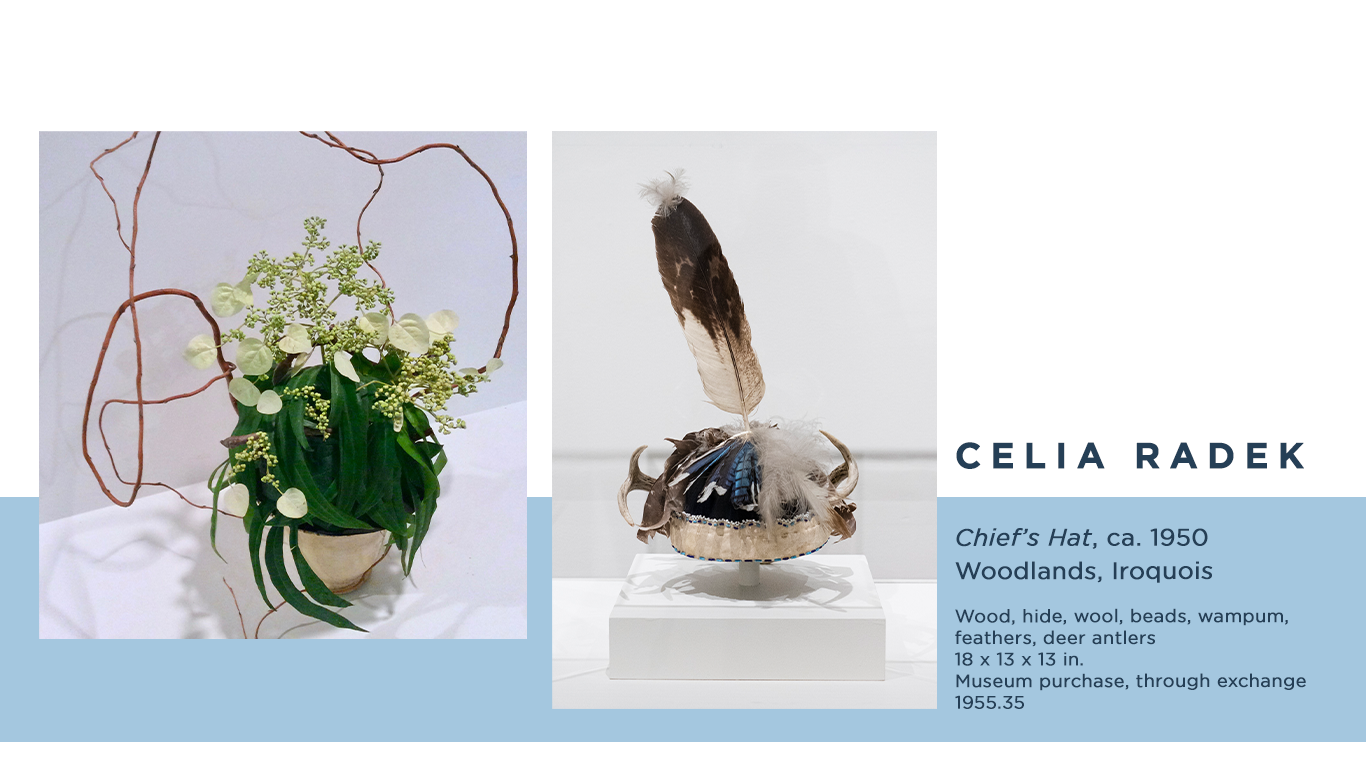Celia Radek Virtual Art in Bloom Floral design