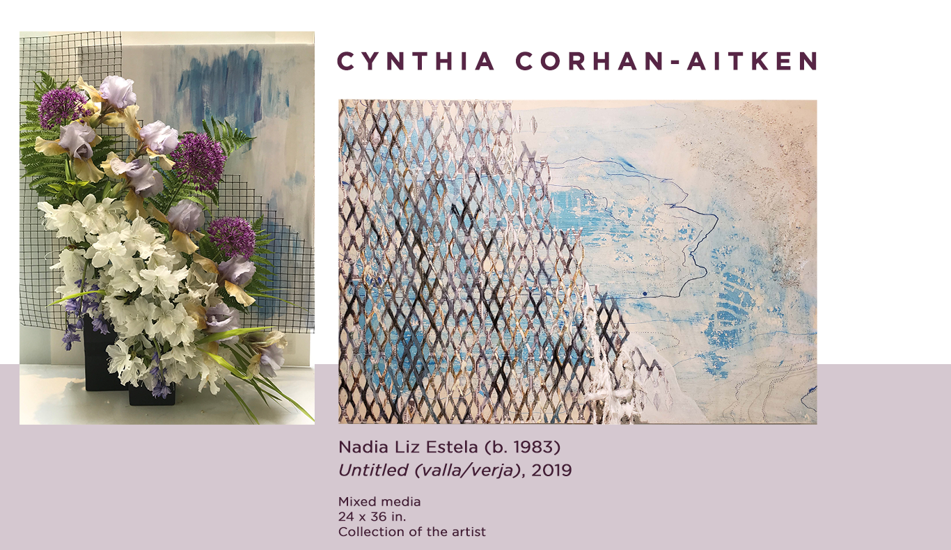 Cynthia Corhan-Aitken's Virtual Art in Bloom floral design