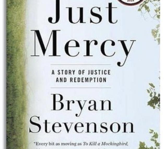 Cover of just mercy book by bryan stevenson